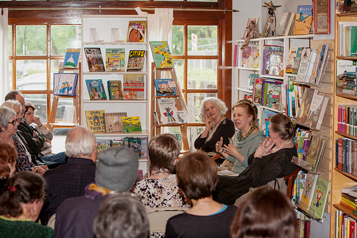 Reading at Watchung Booksellers, Montclair NJ, photo by William Phipps