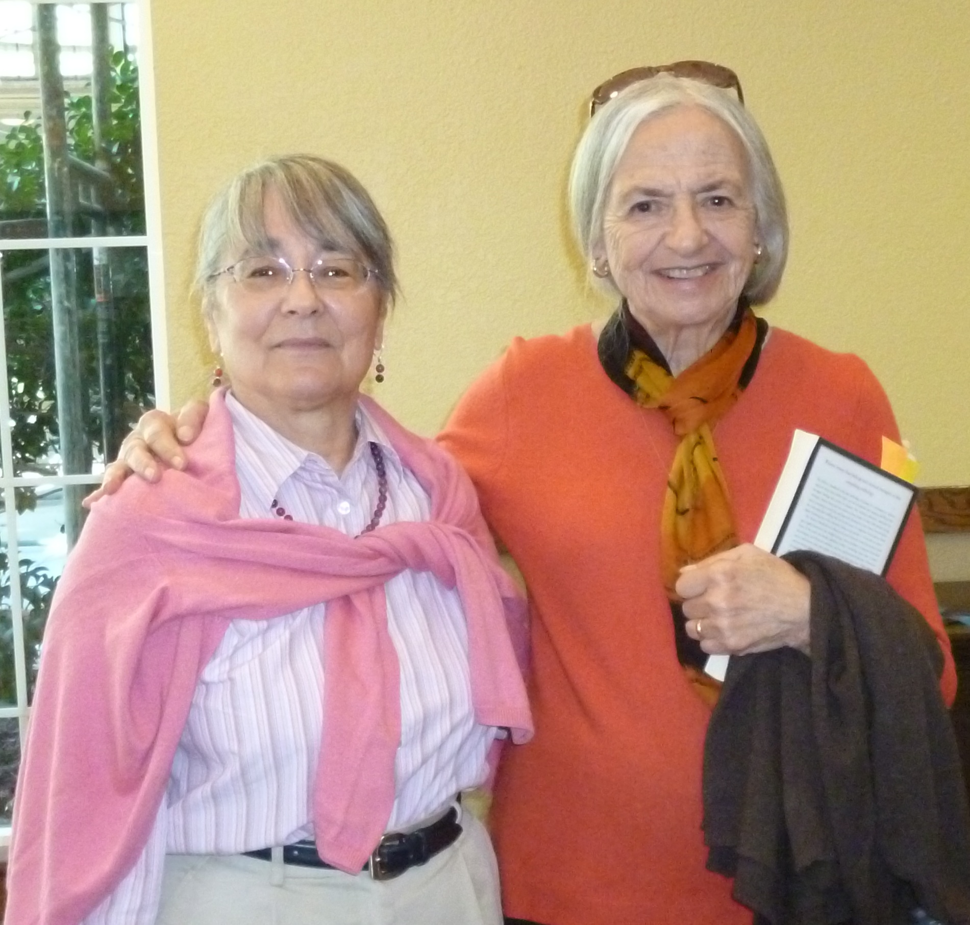 Lise Menn & Jackie Kudler at Oakmont retirement community